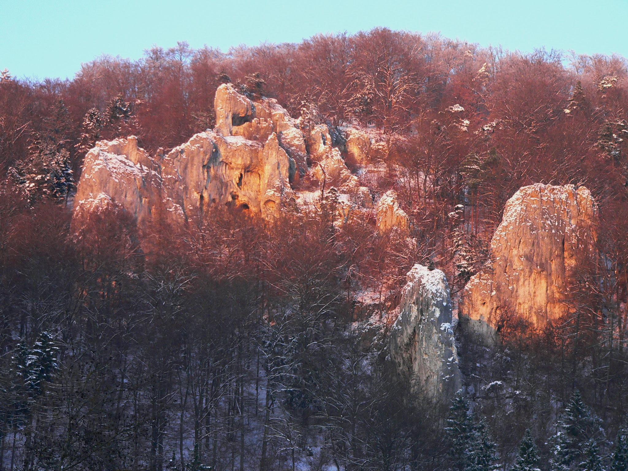 Ice age hunter trail Blaubeuren