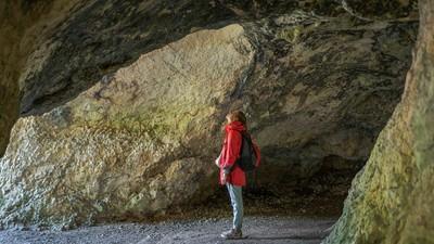 Höhle auf der Schwäbischen Alb