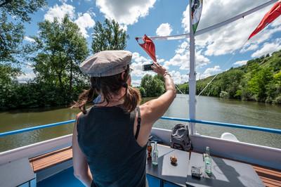 Neckar Käpt'n, Flussschifffahrt von Stuttgart nach Marbach