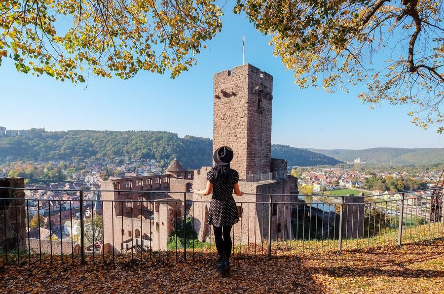 Wertheim Castle in the Tauber Valley - © Susi Maier
