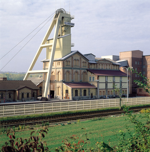 Visitor salt mine Bad Friedrichshall