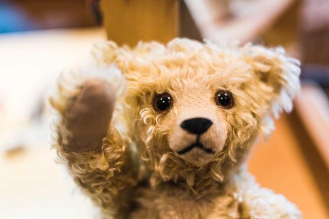 Steiff Museum Giengen Teddybär