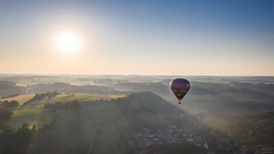 Ballonfahrt Schwäbische Alb